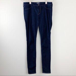 Hollister Skinny Dark Wash Jeans Size 7L